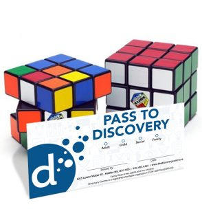 Family Pass to Beyond Rubik's Cube at the Discovery Centre