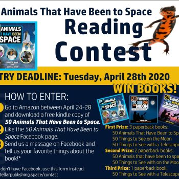 Animals in Space Reading Contest